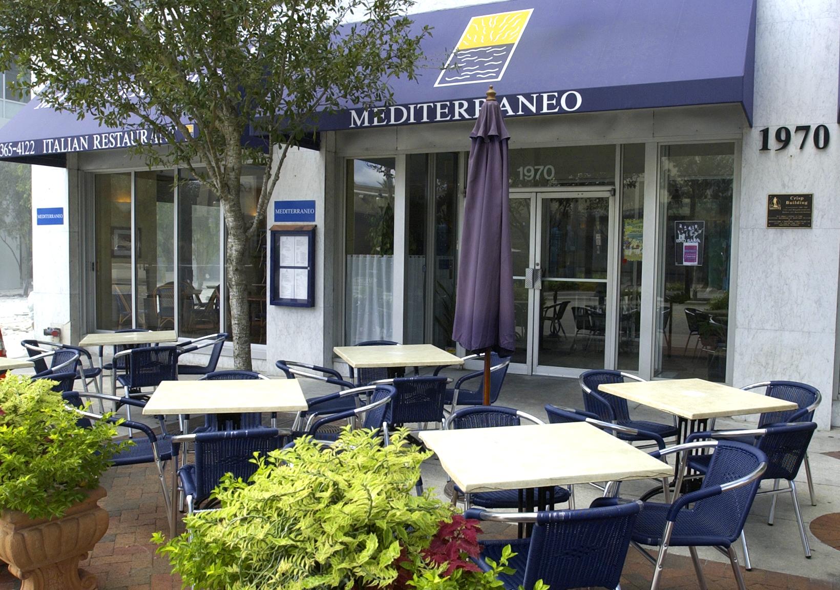 Cafe Mediterraneo Sarasota Fl