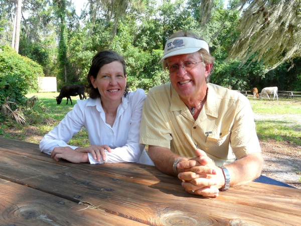 PIONEERS: Laney Poire and Robert Kluson at Crowley Museum and Nature Center / COOPER LEVEY-BAKER
