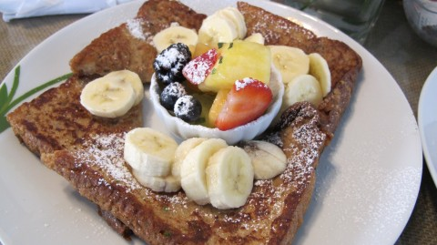 French toast at Blu Island Bistro