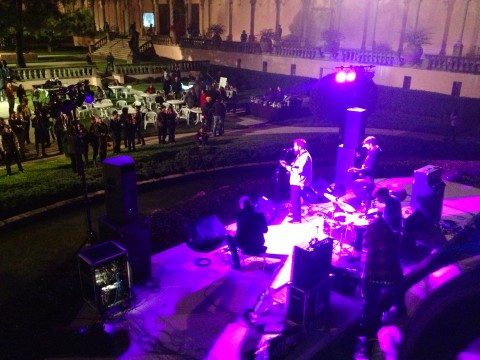 Alexander and the Grapes from above at Ringling Underground.