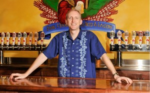 Saint Arnold Brewing Co. founder and brewer Brock Wagner. (Provided by Saint Arnold Brewing Co.)