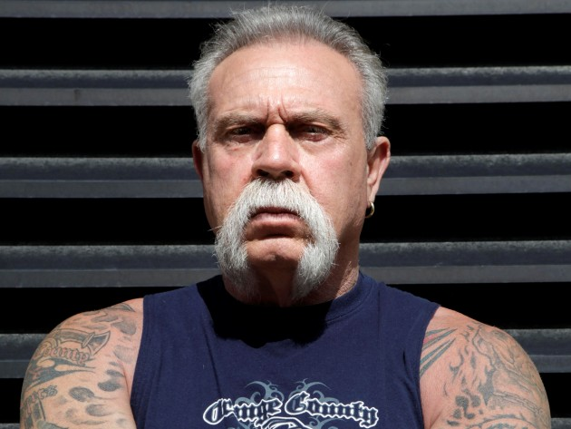 Paul Teutul, Sr. poses for a picture. (AP Photo/Seth Wenig/2009)