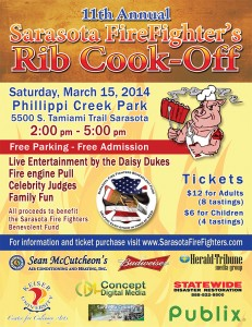 Firefighter Rib Cook-Off